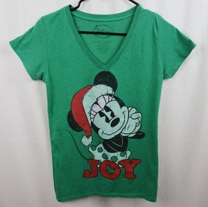 Disney Minnie Mouse Christmas Shirt Size Large